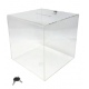 Urna com formato em cubo