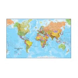 Quadro Mapa Mundo