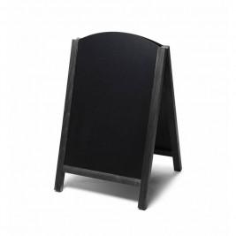 JD NATURA Ardósia de cavalete Fast Switch| alta qualidade de madeira envernizada