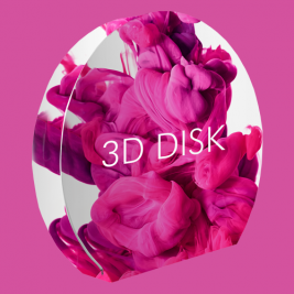 Dsplay 3D Disk