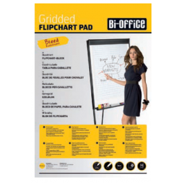 Papel Quadriculado A1 BI-OFFICE 60gr.