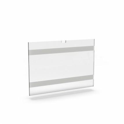 Painel de Acrílico c/ dedeira e biadesivo / vertical ou horizintal