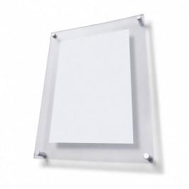 Porta Poster espaçamento 25mm