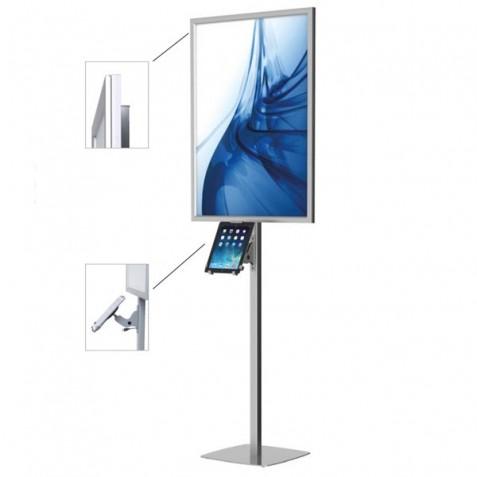 Porta Poster + Suporte Tablet