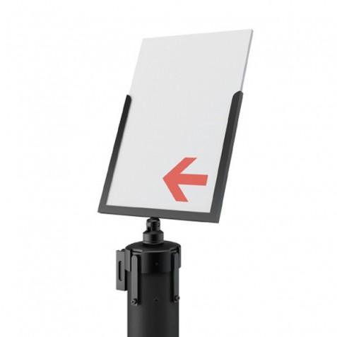 Porta impressões para poste separador