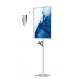 "Suporte VESA Mount com póster LED| suporte para monitores 22"" ou 8kg"