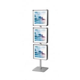 Info Pole Multiframe| 6 quadros modulares