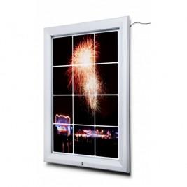 Porta Poster exterior | iluminação LED