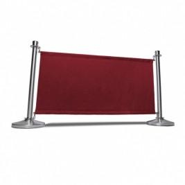 Banners para jogo de terraço| lados superiores e inferiores cosidos