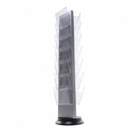 Trys suporte de folhetos| 18 ou 21 dispensadores A4