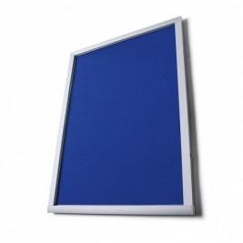 Pantalla de información de tela O (azul)