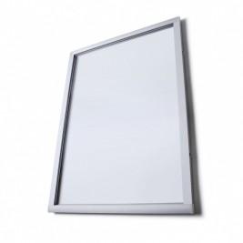 Vitrina de información O en tela (gris)