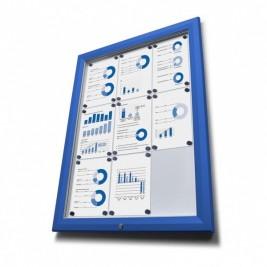 Vitrine de informação T (Azul)
