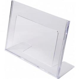 Porta folhetos em L A5 Horizontal