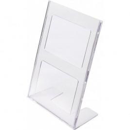 Porta folhetos em L A4 Vertical