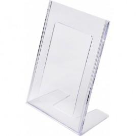 Porta folhetos em L A6 Vertical