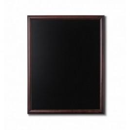 JD NATURA Ardósia de cavalete castanho escuro| alta qualidade de madeira envernizada