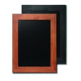 JD NATURA Ardósia de cavalete preto| alta qualidade de madeira envernizada