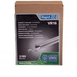 Caixa de Agrafos Galvanizados para Rede VR16