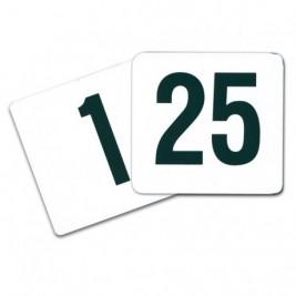 Placas Númericas para Mesas 1- 25